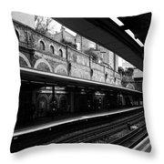 London Underground Station Throw Pillow