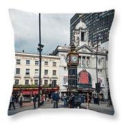 London - Victoria Station Throw Pillow