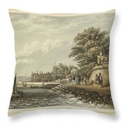 London West Cowes, Isle Of Wight Throw Pillow