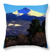 Lone Cone March 16 2018 Throw Pillow