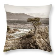 Lone Cypres Throw Pillow