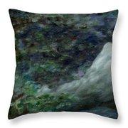 Lone Mountain Throw Pillow