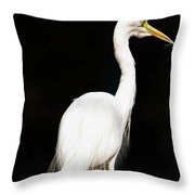 Lone One Throw Pillow