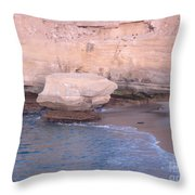 Lone Rock 2 Throw Pillow