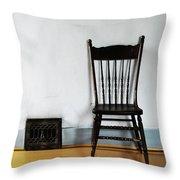 Lone Seat Throw Pillow