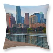 Lone Star State Capitol Ahead Throw Pillow