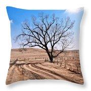 Lone Tree February 2010 Throw Pillow
