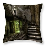 Lone Warrior   Throw Pillow