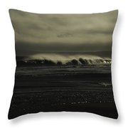 Loneliness Throw Pillow
