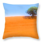 Lonely At The Top Throw Pillow