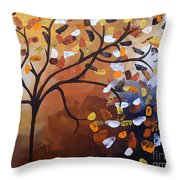 Lonely Breeze Throw Pillow