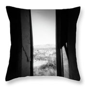 Lonely Church Throw Pillow