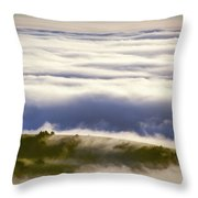 Lonely Cow Throw Pillow
