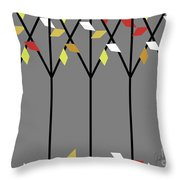 Lonely Friends Throw Pillow