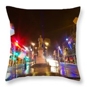 Lonely Ghosts Throw Pillow