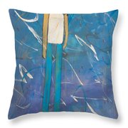 Lonely Guy Throw Pillow