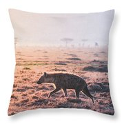 Lonely Hunter Throw Pillow