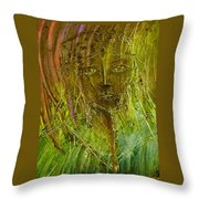 Lonely Lady Throw Pillow