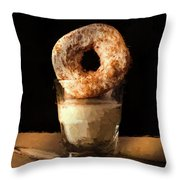 Lonely Man's Dessert Throw Pillow