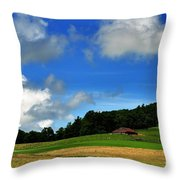 Lonely Meadow Throw Pillow
