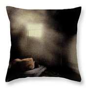 Lonely Nude Throw Pillow by Wayne King