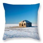 Lonely Place Throw Pillow