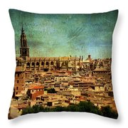 Lonely Spire Throw Pillow