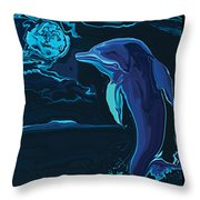 Lonely Tonight Throw Pillow