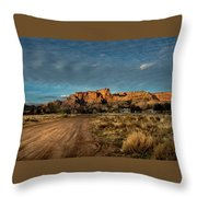 Lonely Town  Throw Pillow