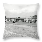 Long Beach California C. 1910 Throw Pillow