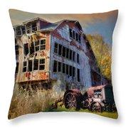 Long Forgotten Throw Pillow