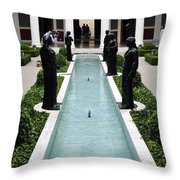 Long Fountain Throw Pillow