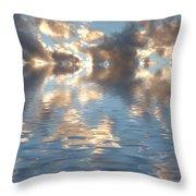 Long Horizon Throw Pillow