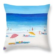 Long Hot Summer Throw Pillow