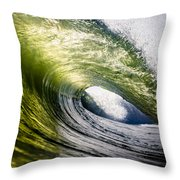 Long Island Green Room Throw Pillow