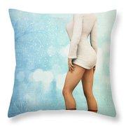 Long Legs Throw Pillow