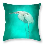 Long Legs Throw Pillow