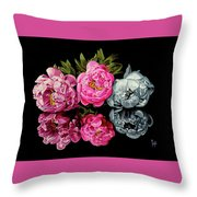 Long Life, Honor And Wealth Has Variable Colors Throw Pillow