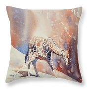 Long Night Out Throw Pillow