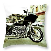 Long Pipes Throw Pillow