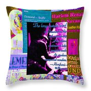 Long Purple Road To Elemental Throw Pillow