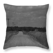 Long Road Home.... Throw Pillow