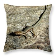 Long Toe Throw Pillow