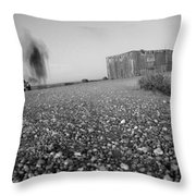 Long Walk Throw Pillow by Mike McGlothlen