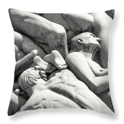 Longing And Yearning Throw Pillow by KG Thienemann