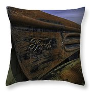 Longing For The Road Again Throw Pillow