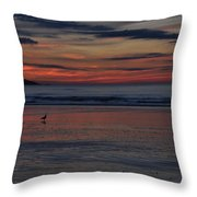 Longsands Dawn Throw Pillow
