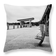 Lonly  Throw Pillow