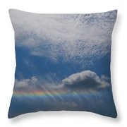 Look At The Sky Throw Pillow