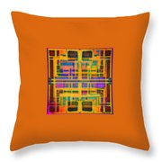 Look Closely The Ancients Walk Among Us Throw Pillow